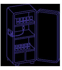 Термогигрометр в холодильнике